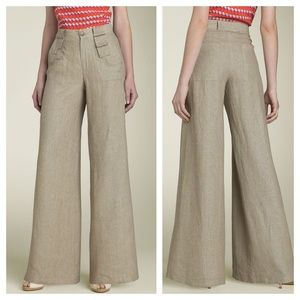 NANETTE LEPORE - NWT Call Your Name Linen Pant